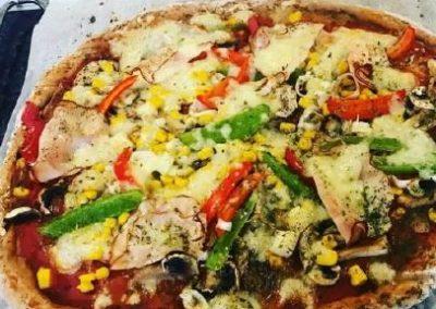 HIGH CARB Dinkel-Vollkorn Pizza