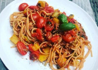 HIGH CARB Dinkel-Vollkorn-Spaghetti