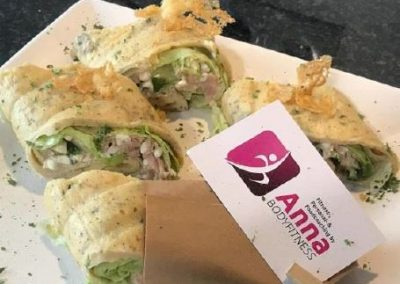 LOW CARB Thunfisch Wraps