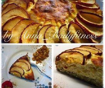 HIGH CARB Topfen Apfel Torte (ohne Äpfel LOW CARB)
