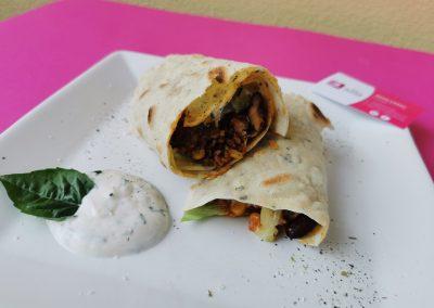 HIGH CARB Dinkel Tortillas