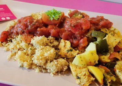 HIGH CARB Kartoffel-Couscous-Pfanne