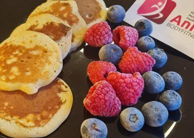 HIGH CARB Bananen-Pancakes